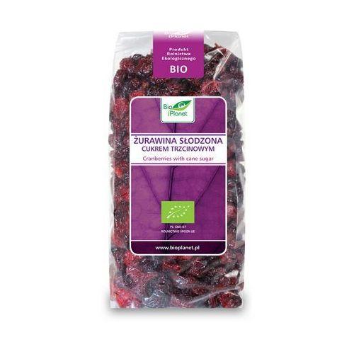 Żurawina słodzona cukrem trzcinowym BIO (Bio Planet) 400g