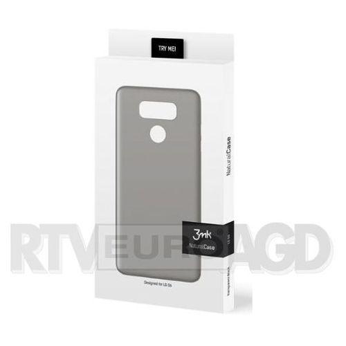 3mk Natural Case LG G6 (czarny), kolor czarny