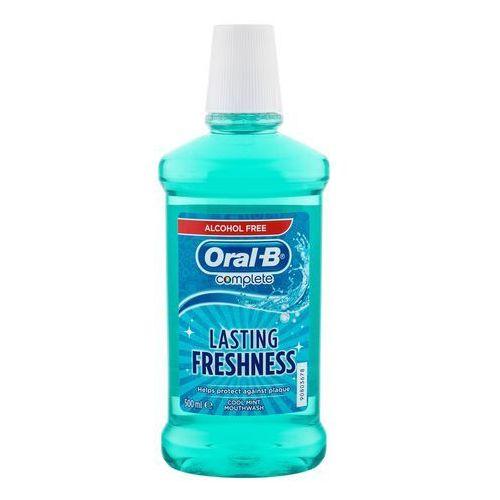 complete płyn do płukania jamy ustnej przeciw płytce nazębnej i dla zdrowych dziąseł + do każdego zamówienia upominek. marki Oral b