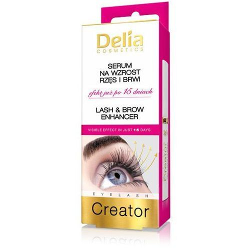 eyelash creator serum na wzrost rzęs i brwi marki Delia