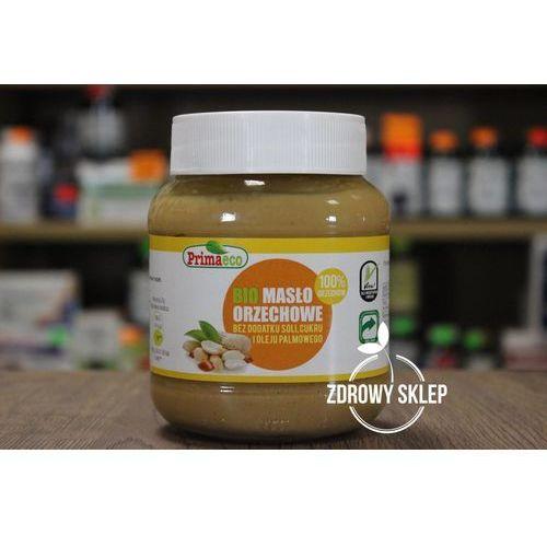 Primaeco (przetwory i pasty vege) Masło orzechowe bez dodatku soli i cukru bio 360 g - primaeco