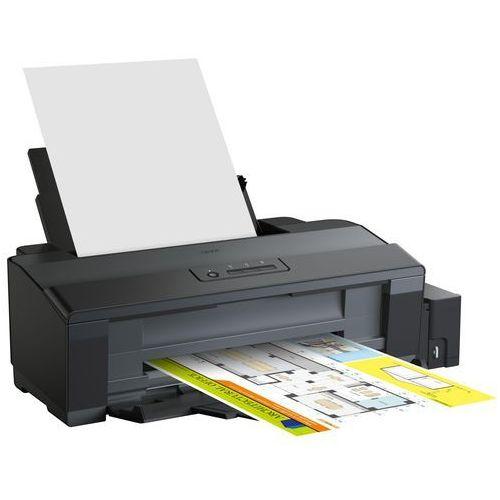 Epson L1300 - Drukarka - kolorowy - strumieniowa - A3 - 5760 x 1440 dpi - do 30 str/min (mono) / do 17 str/min (kolor) - pojemność: 100 arkusze - USB, C11CD81401