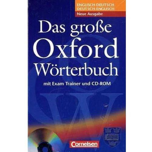 Das große Oxford Wörterbuch, Englisch-Deutsch, Deutsch-Englisch, m. CD-ROM (9783068013052)