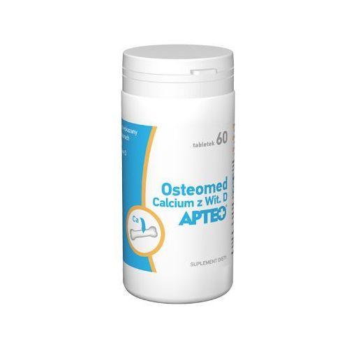 Tabletki Osteomed Calcium z Wit.D x 60 tabletek - data ważności 31-12-2018r.
