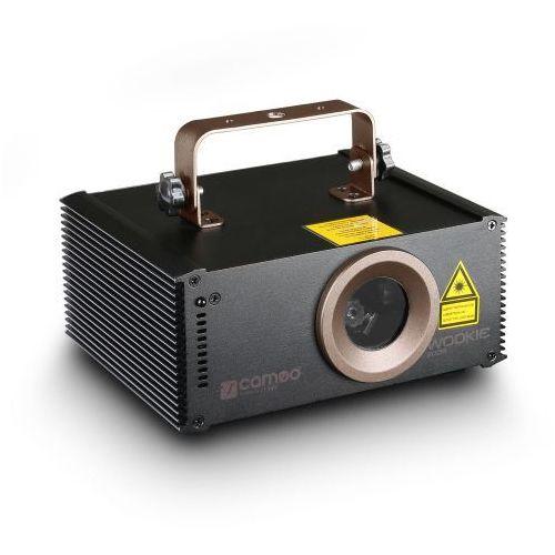 Cameo WOOKIE 200 R-laser do animacji, 200 mW, czerwony
