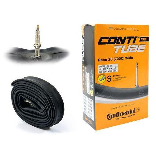 "Continental Co0181931 dętka race wide 28"" x 1,0"" - 1,25"" wentyl presta 60 mm (4019238556865)"