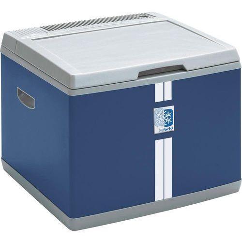 Lodówka turystyczna, samochodowa, hybrydowa (sprężarkowa i termoelektryczna) MobiCool B40 AC/DC 9105303544, 12 V, 230 V, 38 l, niebieski (4015704197822)