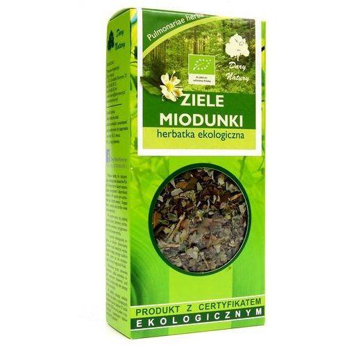 Herbatka ekologiczna ziele miodunki Dary Natury - 25 g / certyfikat ekologiczny (5902741004680)