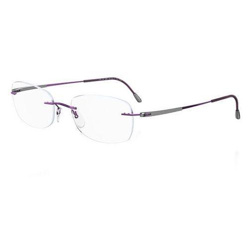 Okulary korekcyjne titan dynamics 4275 6072 marki Silhouette