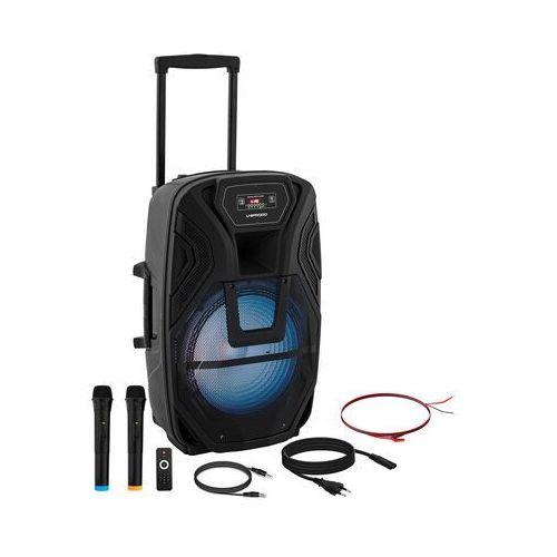 Uniprodo Głośnik przenośny - RMS 50 W - Bluetooth - 2 mikrofony CON.PAS15-01 - 3 LATA GWARANCJI