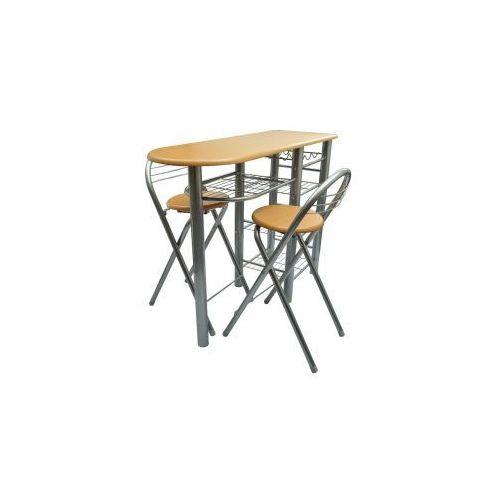 Zestaw stolik i dwa krzesła, drewniane, marki vidaXL do zakupu w VidaXL