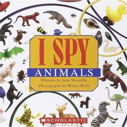 I spy little animals, oprawa twarda