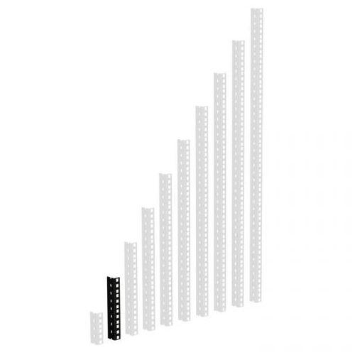 Adam Hall Parts 61535 B 4 - Szyna rack, czarna, 4U, wersja ciężka