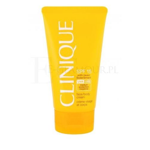 Clinique sun care face body cream spf15 preparat do opalania ciała 150 ml dla kobiet