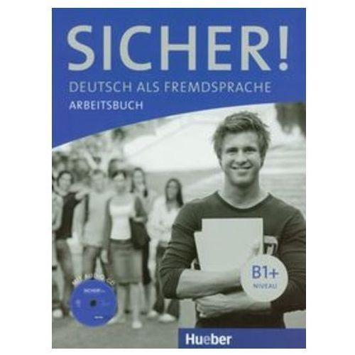 Sicher! B1+, Arbeitsbuch mit CD (zeszyt ćwiczeń) (9783190112067)
