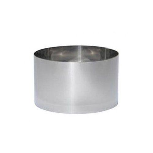 Rant cukierniczy ze stali okrągły wysoki de Buyer 12 x 8 cm D-3912-12 (3011243912125)