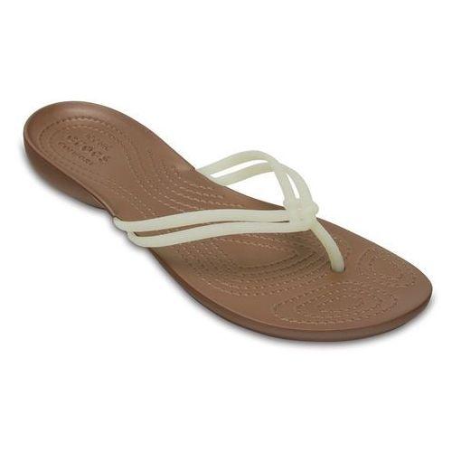 Crocs Buty klapki isabella 204004 white - perłowy   white   biały
