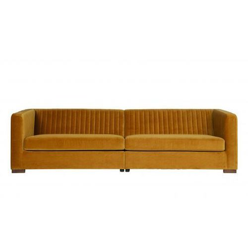 Be pure sofa nouveau xl aksamitna musztardowa 800749-910 (8714713078028)