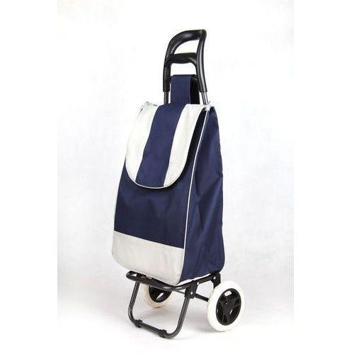 Wózek na zakupy standard 02 granatowy (wózek na zakupy)