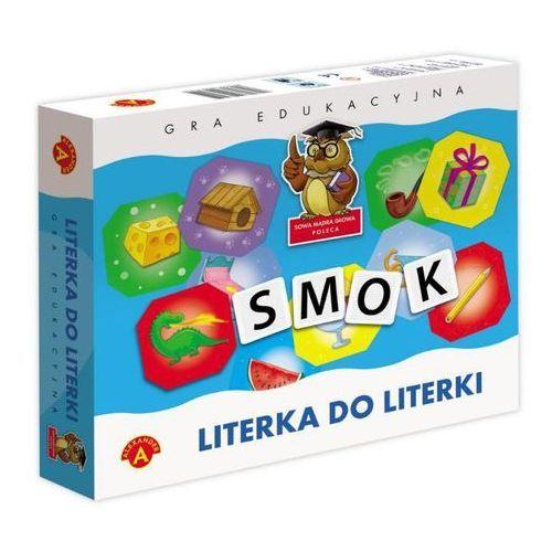 GRA EDUKACYJNA - LITERKI DO LITERKI, AM_5906018003734