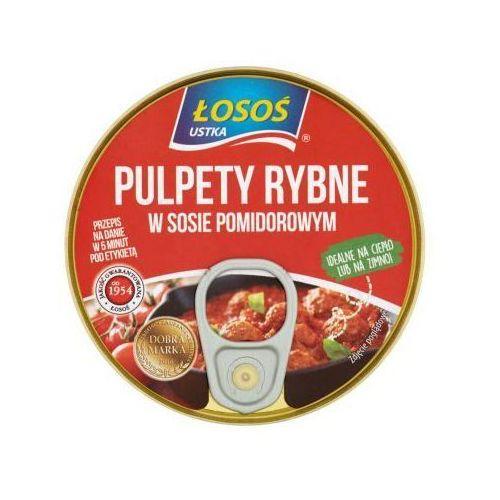 Łosoś Pulpety rybne w sosie pomidorowym 250 g ustka