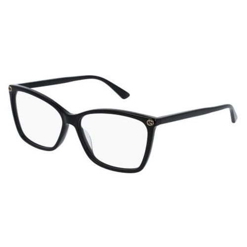 Okulary korekcyjne gg0025o 001 marki Gucci