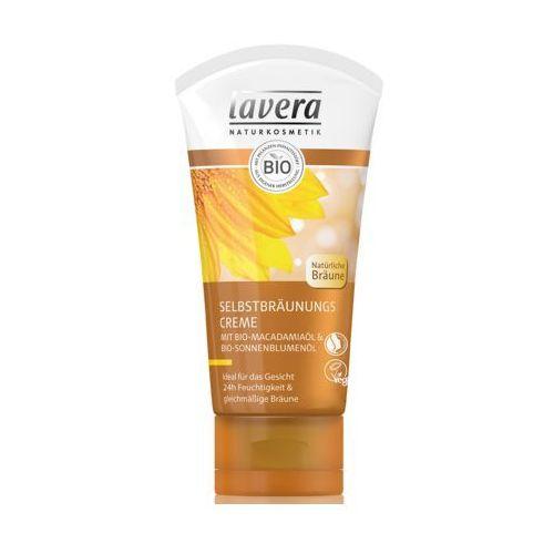 Krem samoopalający do twarzy z bio-makadamią i bio-olejem słonecznikowym marki Lavera