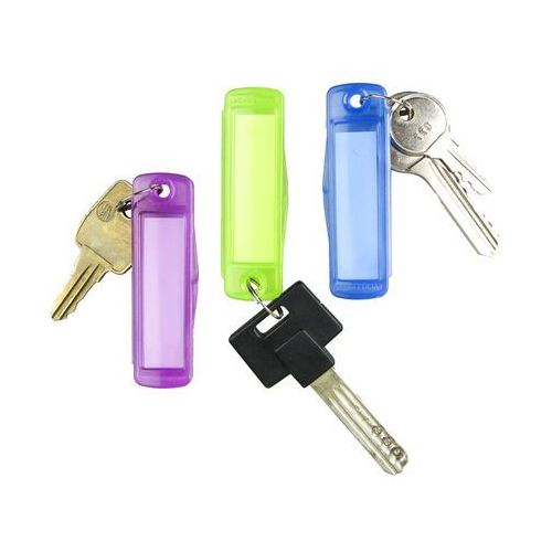 Breloczki do kluczy zawieszki z okienkiem na opis 3 szt. FACKELMANN 16111 (4008033161114)