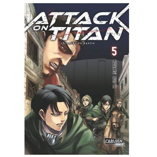 Attack on Titan. Bd.5 (9783551742377)