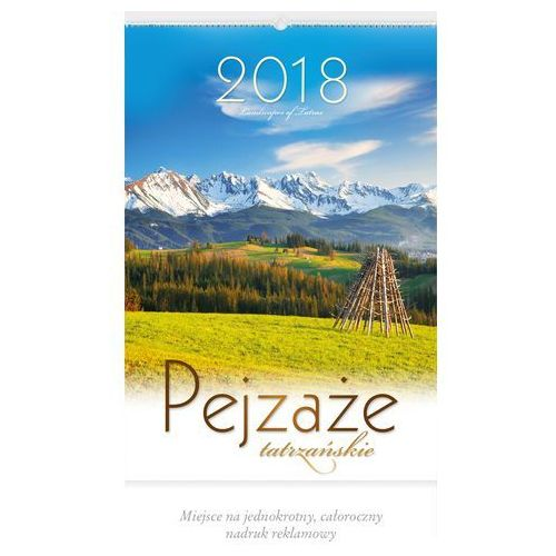 Kalendarz wieloplanszowy pejzaże tatrzańskie rw05 marki Lucrum
