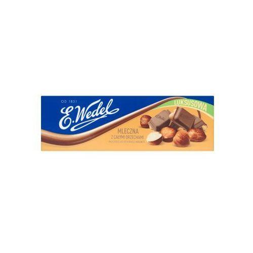 220g czekolada luksusowa mleczna z orzechami laskowymi marki E. wedel