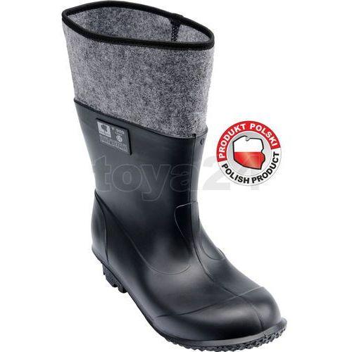 Toya Buty gumowo-filcowe rozmiar 42 / 72873 /  - zyskaj rabat 30 zł