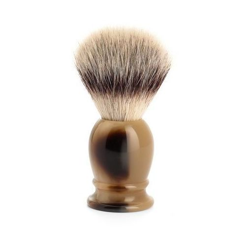 Muhle Pędzel do golenia classic 39k252, syntetyk silvertip fibres, imitacja rogu