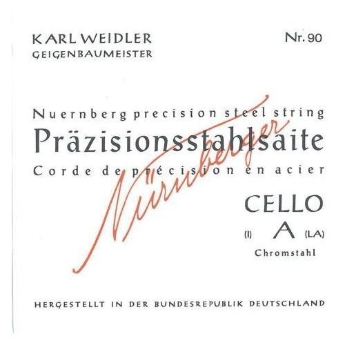 Nurnberger (639744) prazisionss struny do wiolonczeli - set 1/8