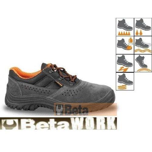 Półbuty robocze zamszowe perforowane roz. 43 PROMOCJA z kategorii obuwie robocze