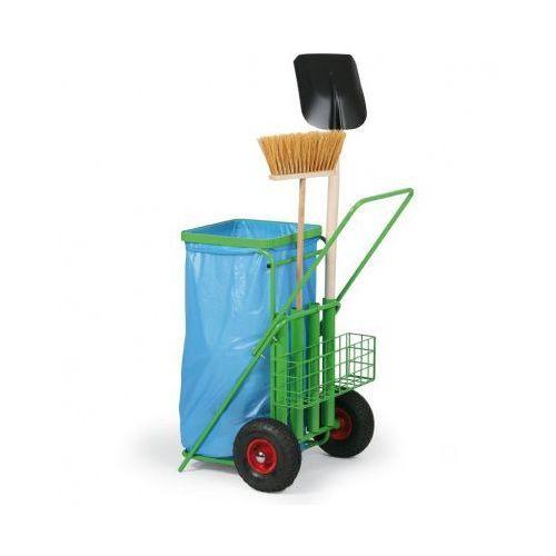 Wózek do sprzątania terenów zewnętrznych na worki 120l marki B2b partner