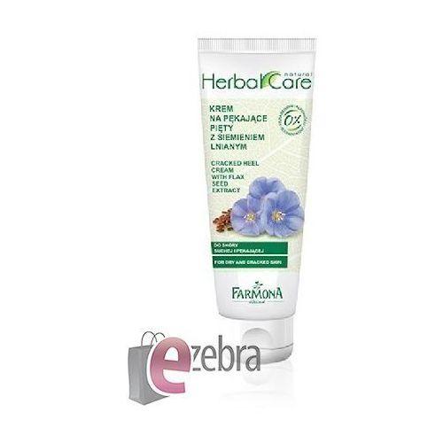 Farmona herbal care flax seed krem do popękanych pięt (10% of urea, vitamin a) 100 ml