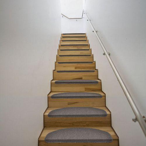 vidaXL Dywaniki na schody 64,5 x 25,5 cm Mokka x15 - sprawdź w VidaXL