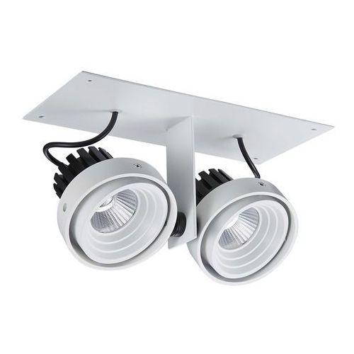 Lampa sufitowa Italux Patrizio Double GL7118-2/2X12W 3000K WH+BL oprawa 2x12W LED biały/czarny, GL7118-2/2X12W 3000K WH+BL