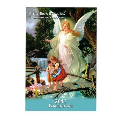 Produkt polski Kalendarz dla dzieci z aniołem stróżem