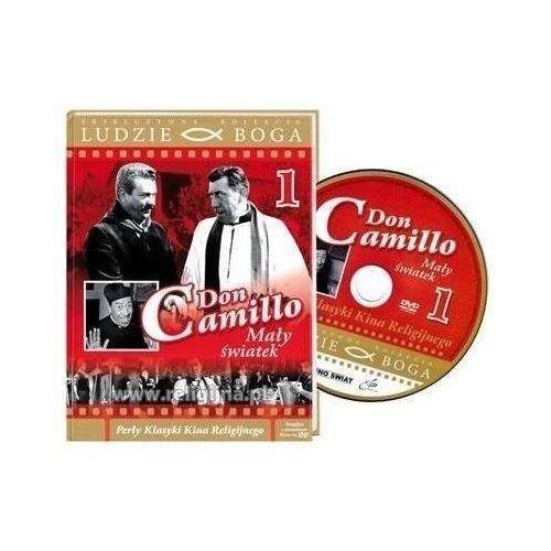 Ludzie boga. don camillo. mały światek dvd+książka marki Rafael