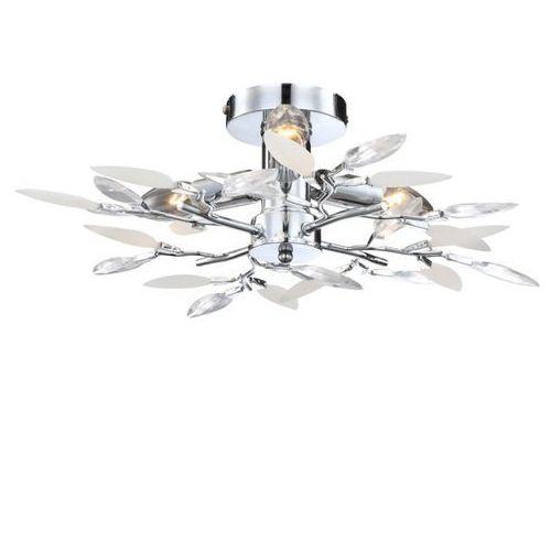 Plafon LAMPA sufitowa VIDA 63160-4 Globo OPRAWA chrom, 63160-4