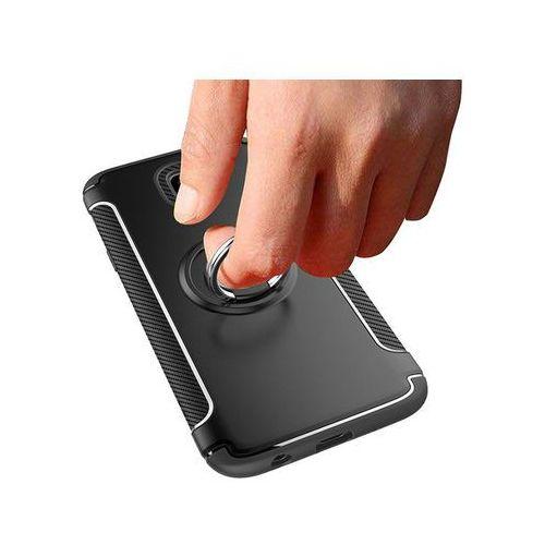 Etui Alogy pancerne Samsung Galaxy J7 2017 Ring Czarne