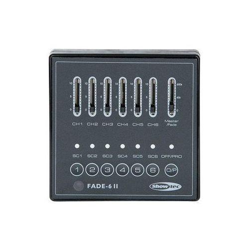 x-fade 6 mkii kontroler dmx 6 kanalów marki Showtec