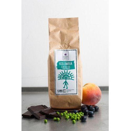 Blueberry roasters Kawa ziarnista kolumbia excelso 250g - ziarnista \ 250g
