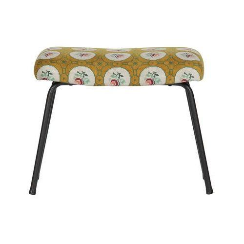 Be pure stołek/podnóżek granny velvet ochre 800938-o