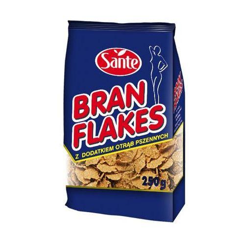 Sante Płatki bran flakes z dodatkiem otrąb pszennych 250 g