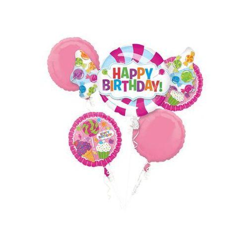 Bukiet balonów foliowych na urodziny marki Amscan