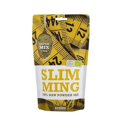 Purasana Mieszanka superfood slimming bez laktozy, bezglutenowa bio 250 g - (5400706613439)
