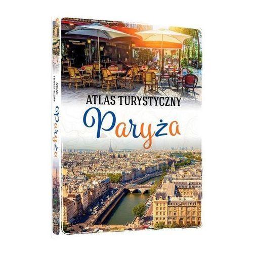 Atlas turystyczny paryża, oprawa twarda